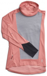 ON Damen Laufshirt Weather Langarm, Größe M in Dustrose Fossil