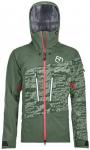 ORTOVOX Damen Trekkingjacke 3L Guardian Shell Jacket, Größe XS in green forest