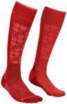 ORTOVOX Damen Socken SKI COMPRESSION, Größe 42-44 in Rot
