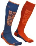 ORTOVOX Herren Socken SKI COMPRESSION, Größe 42-44 in Blau