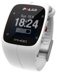 POLAR Trainingscomputer M400 HR White  in Weiß