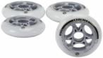 POWERSLIDE Inline-Skates-Rollen-Set Infinity II 90 mm , Größe 1 in Weiß