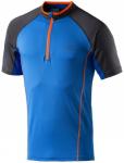 PRO TOUCH Herren T-Shirt Zip Olon III, Größe L in Blau