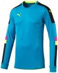 Puma Herren Fußballtrikot Tournament GK Shirt, Größe S in ATOMIC BLUE-SAFETY