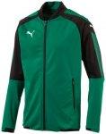 Puma Herren Jacke Ascension Stadium Jacket, Größe M in POWER GREEN-PUMA BLACK
