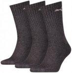 PUMA Herren Socken SPORT 3P, Größe 35-38 in Grau