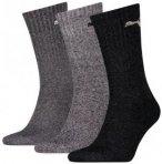 PUMA Herren Socken SPORT 3P, Größe 35-38 in Schwarz