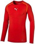 Puma Herren T-Shirt TB_L/S Tee, Größe L in Rot