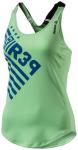 REEBOK Damen Shirt OS LBT, Größe L in Grün