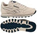 REEBOK Herren Sneaker Reebok Classic Leather Beige, Größe 44 ½ in Blau