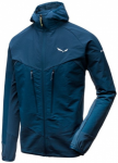 SALEWA Damen Funktionsjacke AGNER ENGINEERED, Größe L in Blau