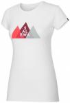 SALEWA Damen Shirt Overlay Dry W S/s TEE, Größe 44 in White
