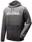 SALEWA Herren Kapuzensweat REFLECTION DRY M HDY, Größe L in Grau
