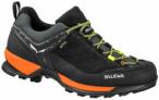 SALEWA Herren Wanderschuhe Mountain Trainer GTX, Größe 42 ½ in Black Out/Holl