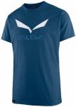 SALEWA Herren Shirt SOLIDLOGO DRI-REL M S/S TEE, Größe M in Blau