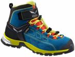 SALEWA Kinder Trekkingstiefel Jr Alp Player Mid GTX, Größe 29 in Blau