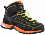 SALEWA Kinder Trekkingstiefel Jr Alp Player Mid GTX, Größe 34 in Grau
