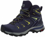 SALOMON Damen Multifunktionsstiefel X ULTRA 3 MID GTX W, Größe 37 1/3 in Grau