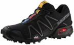 SALOMON Damen Trailrunningschuhe Speedcross 3, Größe 38 2/3 in Schwarz