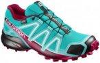 SALOMON Damen Trailrunningschuhe Speedcross 4 Goretex, Größe 37 1/3 in Türkis