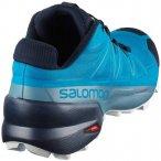"""SALOMON Herren Laufschuhe """"Speedcross 5"""", Größe 42 in Fjord Blue/Navy Blazer/I"""