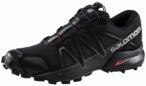 SALOMON Herren Trailrunningschuhe Speedcross 4 black, Größe 46 in Braun