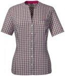 SCHÖFFEL Damen Bluse Mumbai1 Kurzarm, Größe 36 in Grau