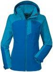 SCHÖFFEL Damen Outdoor-Jacke ZipIn Jacket Alyeska, Größe 42 in Blau