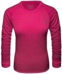 SCHÖFFEL Damen Unterhemd Merino Sport Shirt 1/1 Arm W, Größe XL in Pink