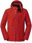 SCHÖFFEL Herren Jacket Padon M, Größe 50 in high risk red