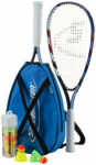 SPEEDMINTON SET S200 IM X-BACK PACK (INC in Blau