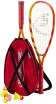 SPEEDMINTON SET S65 IM X-BACK PACK, 2015 in Orange