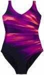 SPEEDO Damen Sw-1 Peece Vivapool 1pce Af Navy/purple, Größe 42 in Blau
