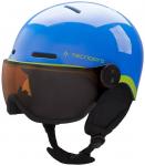 TECNOPRO Kinder Helm Titan JR YJ-52, Größe XS in Blau/Grün