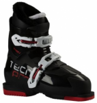 TECNOPRO Kinder Skistiefel T40-1, Größe 21 in Schwarz
