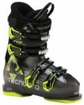 TECNOPRO Kinder Skistiefel T60, Größe 27 in Schwarz/Neongelb