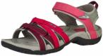 TEVA Damen Sandale Tirra Leder, Größe 36 in Rot