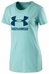 UNDER ARMOUR Damen Shirt Sportstyle Crew, Größe M in Blau