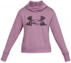UNDERARMOUR Damen Sweatshirt Cotton Fleece Sportstyle Logo Hoody, Größe M in P