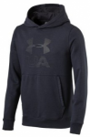 UNDER ARMOUR Herren Sweatshirt Threadborne, Größe L in Schwarz