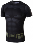 UNDER ARMOUR Herren Shirt BATMAN SUIT SS, Größe S in Grau