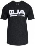 UNDER ARMOUR Herren Shirt UA SPORTSTYLE SS, Größe S in Schwarz