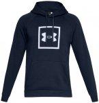 UNDERARMOUR Herren Sweatshirt Rival Fleece Logo Hoodie, Größe XL in Academy /