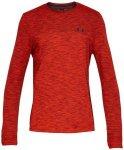 UNDER ARMOUR Herren Trainingsshirt Siphon Langarm, Größe L in Rot