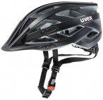 UVEX Fahrradhelm I- Vo CC, Größe 56-60 in Schwarz Matt