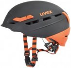 UVEX Herren Helm P.8000 Tour, Größe 55-59 in Grau
