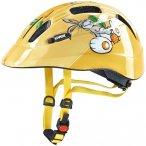 UVEX Kinder Helm Cartoon, Größe 49-55 in Braun