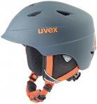 UVEX Kinder Ski- und Snowboardhelm Airwing 2, Größe 48/52 CM in Grau
