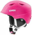 UVEX Kinder Ski- und Snowboardhelm Airwing 2, Größe 48/52 CM in Pink