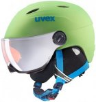 UVEX Kinder Skihelm junior visor pro, Größe 52-54CM